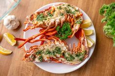 Fűszervajas homár