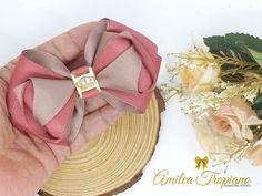 Satin Ribbon Flowers, Ribbon Hair Bows, Diy Hair Bows, Diy Bow, Diy Ribbon, Fabric Flowers, Hair Bow Tutorial, How To Make Ribbon, Hair Beads