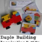 Lego Duplo Building Inspiration Busy Bag / Activity Bag