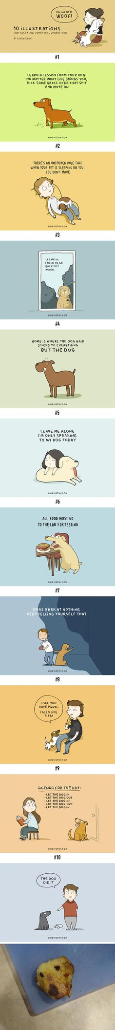 10 Illustrations Every Dog Owner Will Understand - 9GAG