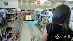Project Tango lets shoppers navigate a 3d data map of items within large stores.