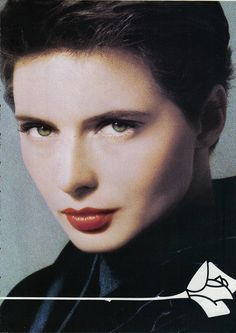 Isabella Rossellini for Lancome | Flickr - Photo Sharing!