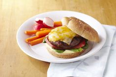 Make these meatless Portobello 'Burgers' at your next cookout. Full of hearty flavor, everyone will love these delicious Portobello 'Burgers'.