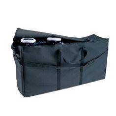 JL Childress Standard and Dual Stroller Travel Bag, Black