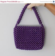 Everyone needs a purple purse!