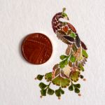 Delicate Pressed Fern Leaf Illustrations by Helen Ahpornsiri