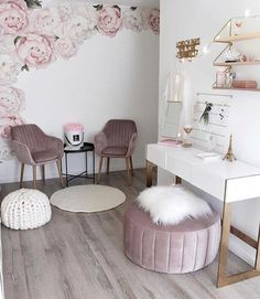 Cute Room Decor, Girl Decor, Baby Decor, Spa Room Decor, Beauty Room Decor, Room Decor For Girls, Massage Room Decor, Paris Room Decor, Beauty Room Salon