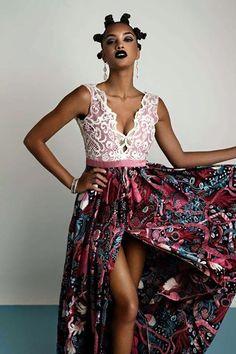 ♡Designs by Rose Palhares, Angola ~African fashion, Ankara, kitenge, African women dresses, African prints, African men's fashion, Nigerian style, Ghanaian fashion ~DKK