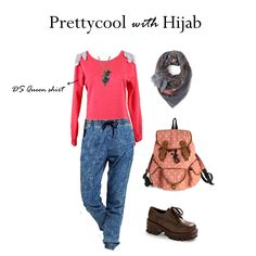 Mix and match tips the Preetycool with hijab ❤