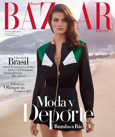Isabeli Fontana by Thomas Whiteside for Harper's Bazaar Spain, July 2016.