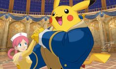 The Beauty and the Beast/Pokemon Mash-Up