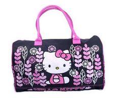 hello kitty gym bag pink flowers Sanrio Hello Kitty 8f31a12f8f0c3