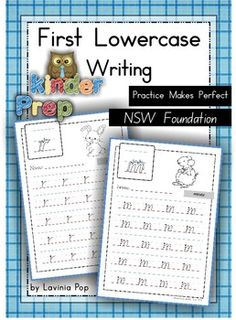 Handwriting - Practice Makes Perfect Lowercase Letters Vic. Modern Cursive font I have made these lowercase handwriting practice sheets to addre. Penmanship Practice, Handwriting Practice Sheets, Handwriting Activities, Free Handwriting, Improve Your Handwriting, Handwriting Analysis, Handwriting Worksheets, Literacy Worksheets, Math Literacy