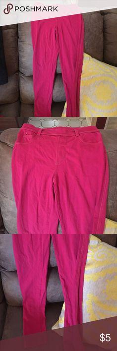 Copper Key Pink Leggings Copper Key Pink leggings size medium 10/12. Excellent condition. Cotton spandex blend fabric. Waist 22 inseam 25 1/2 Copper Key Bottoms Leggings
