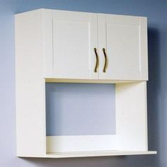 Microwave Shelf Over Stove Wall Cabinet Kitchen Shelves