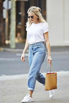 2016 Trendi: Mom Jean Kombinleri | Mom Jeans Outfits
