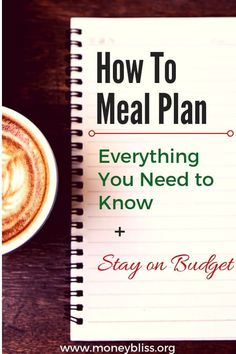 Learn how to meal plan in less than 10 minutes a week. Plenty of options to fit your lifestyle as a couple or as a family. The best part you will save money and stay on budget. Plus eat healthy meals. Budget Meal Planning, Budget Meals, Food Budget, Frugal Meals, Healthy Foods To Eat, Healthy Eating, Healthy Plate, Low Carb Recipes, Healthy Recipes