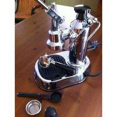 La Pavoni Europiccola Manual Espresso Machine - Chrome - EPC-8 - My Espresso Shop