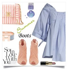 """Summer Booties 5-30-17"" by letiperez-reall ❤ liked on Polyvore featuring Teija, Dolce&Gabbana, Chanel, Hermès and Bobbi Brown Cosmetics"