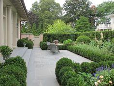 Edmund Hollander Landscape Architects - Hornbeam Cottage - Bedroom Garden
