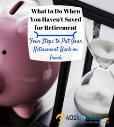 What to do when you haven't saved enough for retirement? Millions of Americans are missing their retirement plans and scrambling to make up for it. Learn what to do to reach your retirement goals.