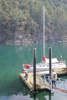 #Pender Island Harbour. #explorebc Photo via http://www.clevernettle.com/rachabees/category/pacificnorthwest/