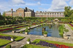 Kensington Palace, London.  Houses Royal Ceremonial Dress Collection and was home to Princess Dianna