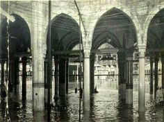 Flood overflow Alharam Holy Mosque