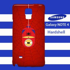 Despicable Me Minions Spiderman Samsung Galaxy Note 4 Case Cover