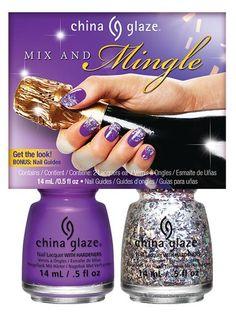 China Glaze 'Cheers!' - Mix And Mingle Nail Design Kit