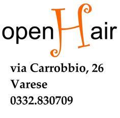 Open Hair di Cristina Croci è un green salon Simply Organic che trovate a Varese, in Via Carrobbio 26, tel. 3331058527- 0332830709.
