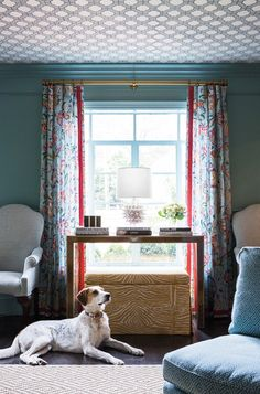 Interior designer Annie Anderson mixed family treasures with contemporary color and pattern for a young family's forever home