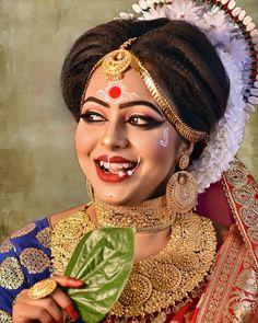 Fulfill a Wedding Tradition with Estate Bridal Jewelry Indian Bridal Fashion, Indian Wedding Jewelry, Indian Jewelry, Bridal Jewelry, Indian Weddings, Bridal Jewellery Inspiration, Wedding Inspiration, Wedding Ideas, Bengali Bride