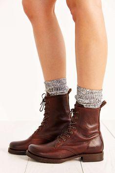 Frye Veronica Combat Block Heel Boots bg4PjI