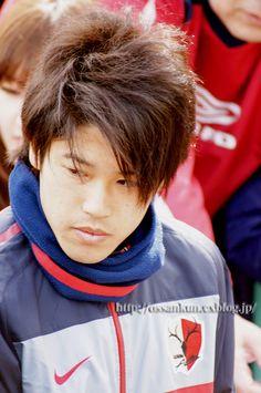 鹿島アントラーズ クラブハウス  DF 内田篤人 選手 2010