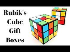Rubik's Cube Gift Box - YouTube