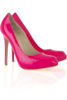 Shoes - every girl needs a classic pink shoe. Pretty Shoes, Cute Shoes, Pretty In Pink, Me Too Shoes, Pink Wedding Shoes, Wedding Dress, Sweater Boots, Cute Sandals, Everything Pink