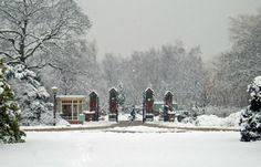 Halte 17 - De Nieuwe Ooster - De grootste Nederlandse begraafplaats uit de negentiende eeuw. (Ingangspartij)