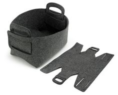 Okay, this is totally awesome! I've got to check this out... Felt Storage Box Felt Basket Container Felt Bin by Filzkraft
