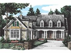 Eplans Country House Plan - Caters to Every Need - 2656 Square Feet and 3 Bedrooms from Eplans - House Plan Code HWEPL11794