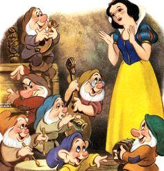 Snow white seven dwarfs, disney art, disney magic, disney love, disney Disney Love, Disney Magic, Disney Art, Disney Pixar, Disney Girls, Snow White 1937, Snow White Seven Dwarfs, Bambi, Alice In Wonderland Cartoon