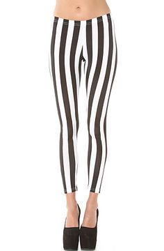 *NYC Boutique - The Sage Leggings in Black and White - MissKL.com