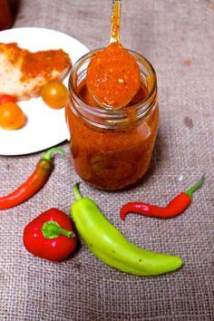 Home made hot sauce (make it mild, or make it super hot!)