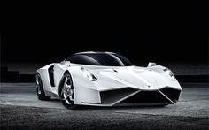 Bijeli concept slike auta za pozadinu