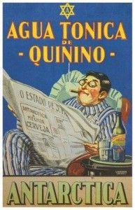 Água Tônica de Quinino Antarctica 1934