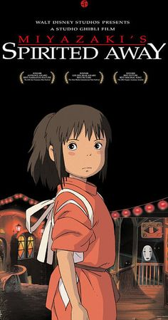 Directed by Hayao Miyazaki.  With Daveigh Chase, Suzanne Pleshette, Miyu Irino, Rumi Hiiragi. During her family's move to the suburbs, a sullen 10-year-old girl wanders into a world ruled by gods, witches, and spirits, and where humans are changed into beasts.