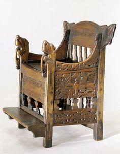 DigitaltMuseum - Gårå-stolen 15th century