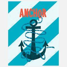 (17) Fab.com | Anchor Print