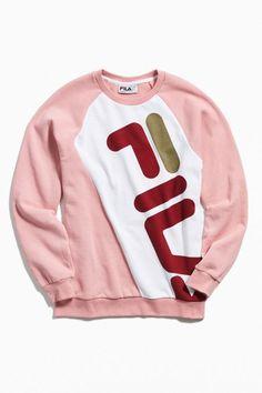 822b049a FILA Emmett Colorblock Crew-Neck Sweatshirt Mens Clothing Sale, Clothes For  Sale, Crew