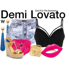 Inspired by Demi Lovato in her 2015 music video for Cool For the Summer.